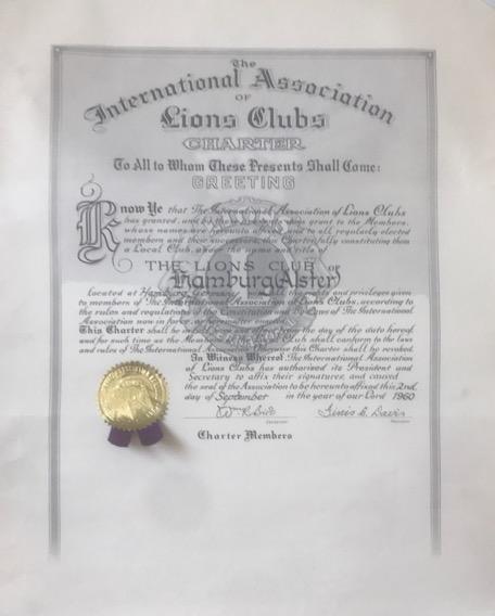 Charter-Urkunde